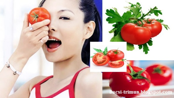 Cà chua trị mụn bọc hiệu quả