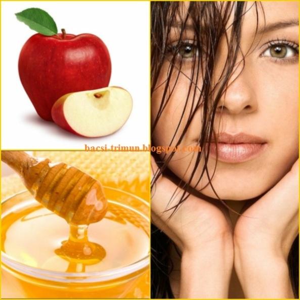 Mặt nạ mật ong và táo trị mụn cám hiệu quả