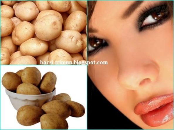 Trị mụn cám tại nhà siêu rẽ bằng khoai tây