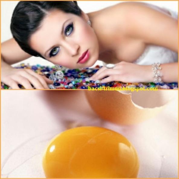 Trứng gà trị mụn cám bằng phương pháp thiên nhiên