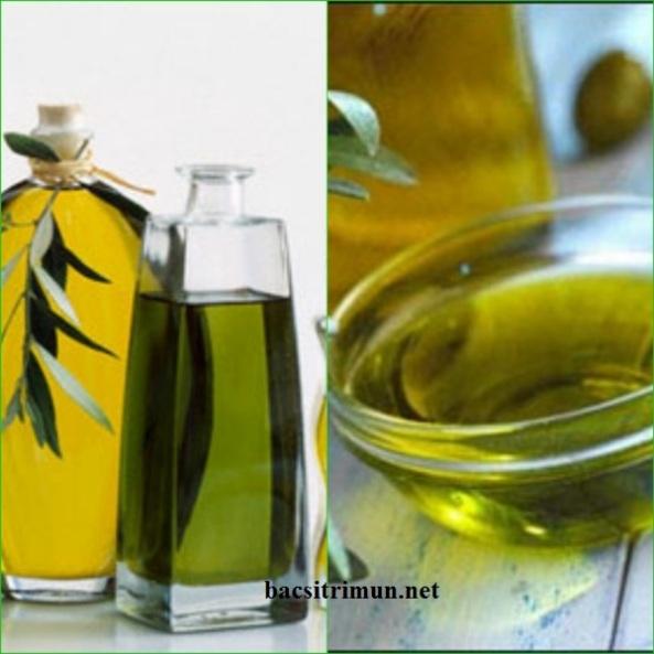 Trị mụn cám hiệu quả bằng cách rửa mặt với dầu oliu(olive)